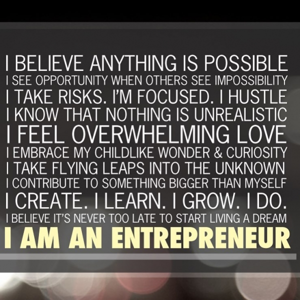 I am an #entrepreneur and it is a #mindset