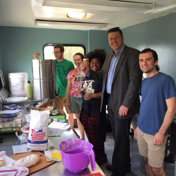 #ICYMI The certified kitchen is open for business! @msupauljaques @landgrantgoods @msurise
