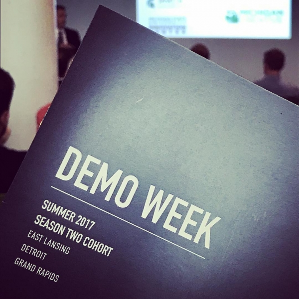 Today we kick off @conquer_accelerator Demo Week in East Lansing! Join us this week in #Detroit and #GrandRapids