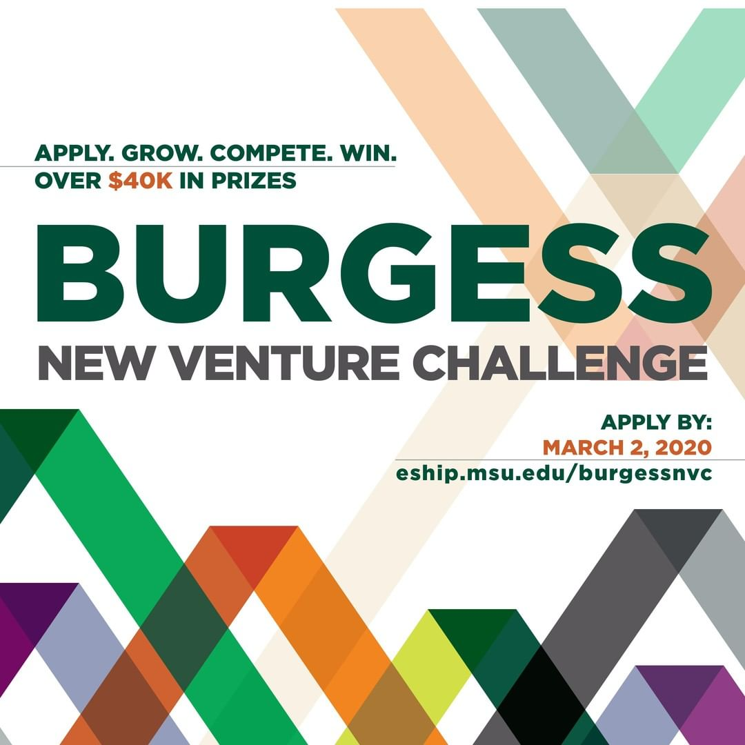 On #NationalEntrepreneursDay, we honor those who aspire, take risks, and push boundaries. Part of our mission is to encourage and support future #Spartan entrepreneurs. Have and Idea? The Burgess New Venture Challenge could be that next big step! What will you build?  Apply. Grow. Compete. Win. Link in the bio.