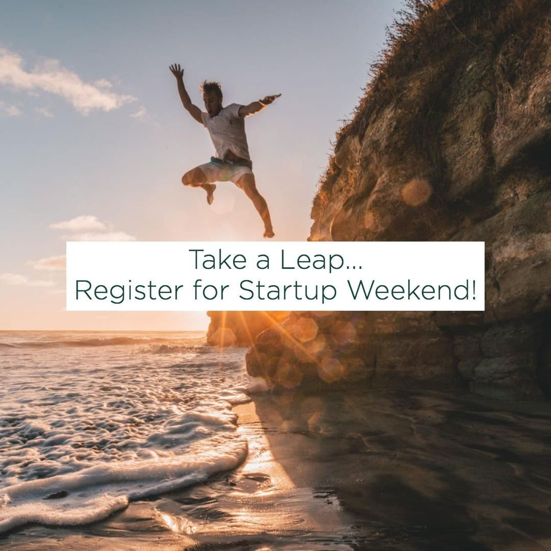 #startupweekend is exactly 1 week away! Register today!🚀💡⚡