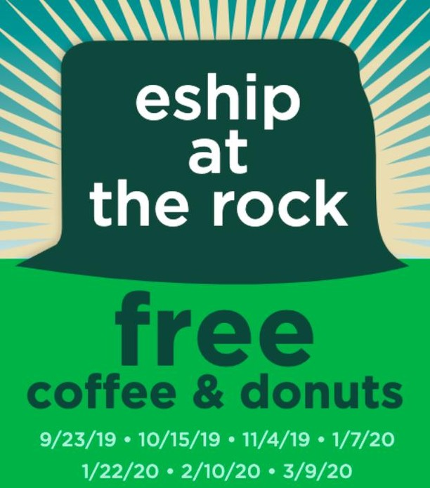 Curious about MSU Entrepreneurship &  Innovation? Come chat with us March 9th at The Rock. FREE coffee & doughnuts included!